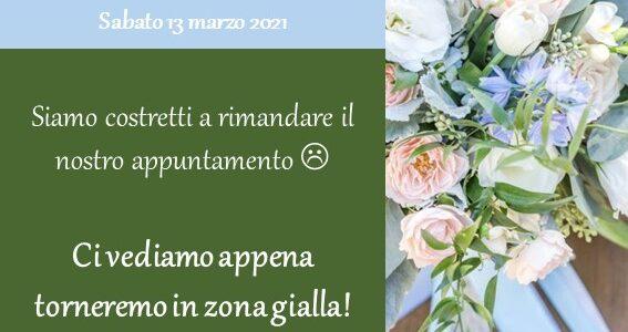 Evento Rimandato! Open Wedding Day La Cava 13 Marzo